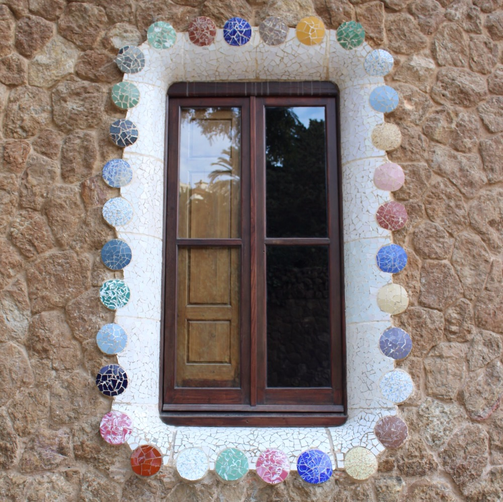 窓枠かわいすぎか