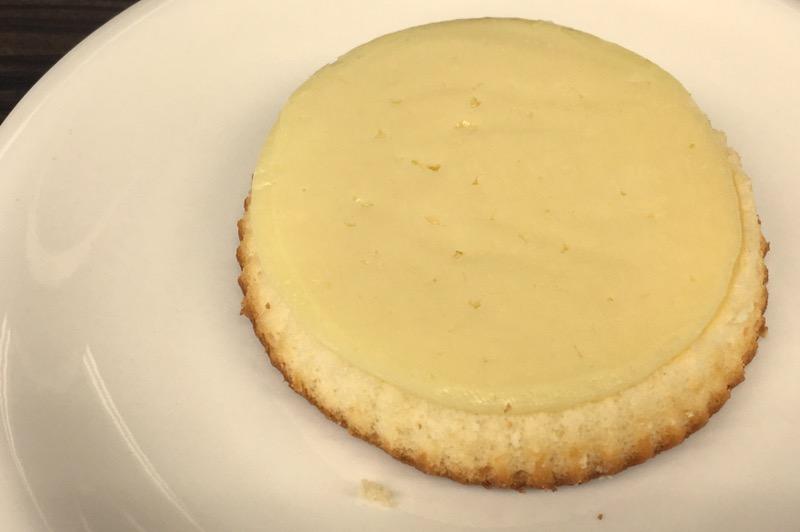 観音屋のチーズケーキチンする前