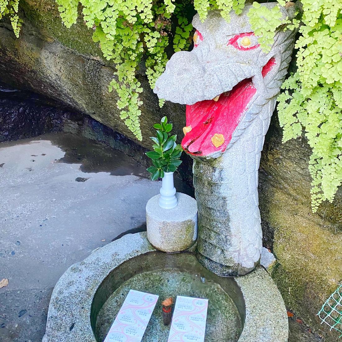 宇賀福神社の竜神様