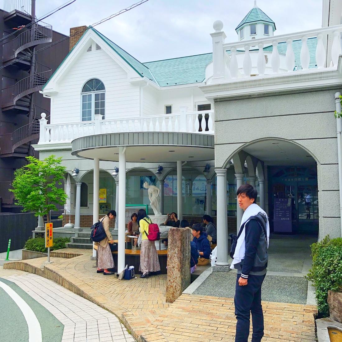 下呂温泉の老舗温泉施設白鷺の湯